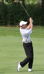Men's Golf in Second Place After Two Rounds of Horizon League Championship