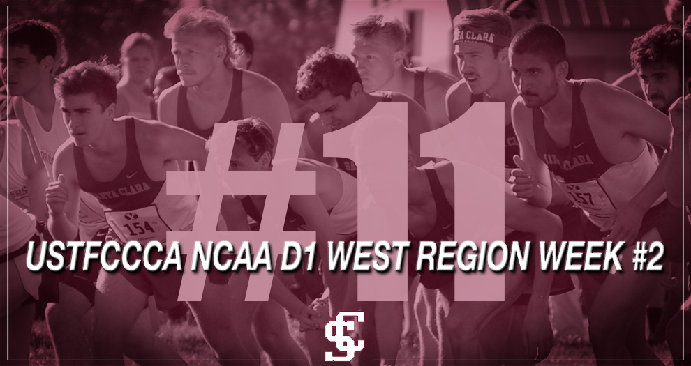 Men's Cross Country Achieves Highest Regional Ranking in Program History