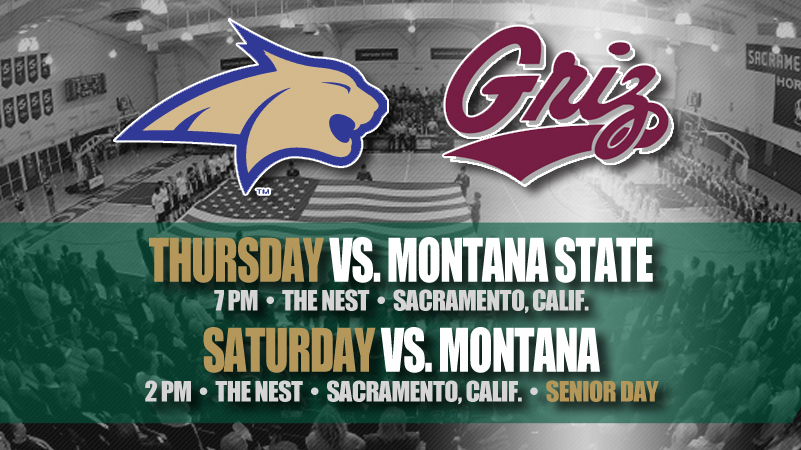 WOMEN'S BASKETBALL FINISHES REGULAR SEASON THIS WEEKEND VERSUS MONTANA STATE & MONTANA
