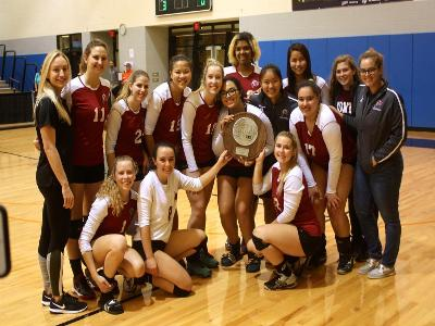 Women's Volleyball: Defeated in finals by the Spartans