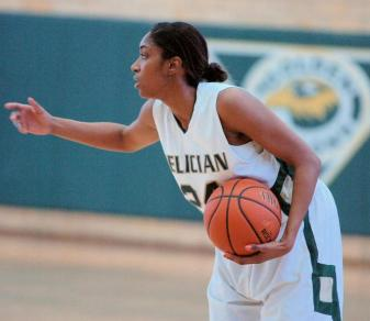 Trina Plummer scored a career-high 27 points and added 12 rebounds in Felician's win at Nyack on Jan. 15, 2013.