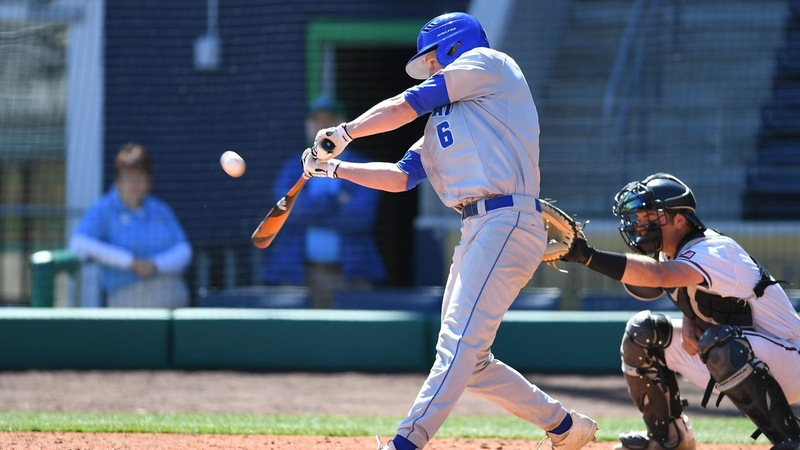 Baseball Splits Saturday Doubleheader with Sacred Heart