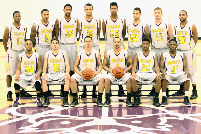 2012-13 Bellevue Men's Basketball