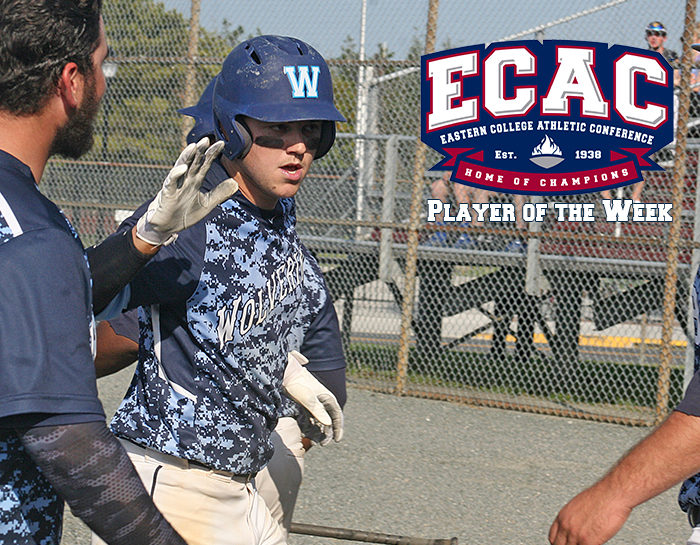 Mears repeats as ECAC South Division III Player of the Week