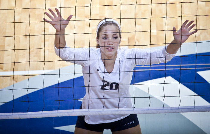 Emory Volleyball Sweeps Eastern In NCAA Quarterfinals