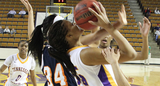 Golden Eagles fall to hot-shooting Skyhawks in Eblen Center