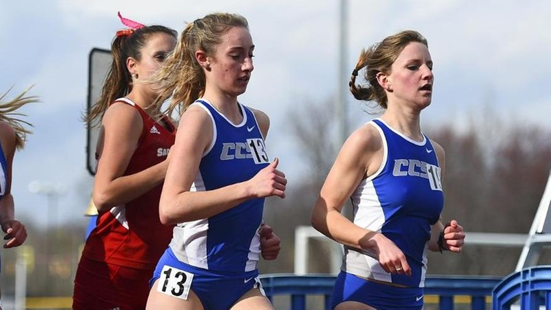 Mondo Wins Steeplechase, Women's Track Shines at Rider
