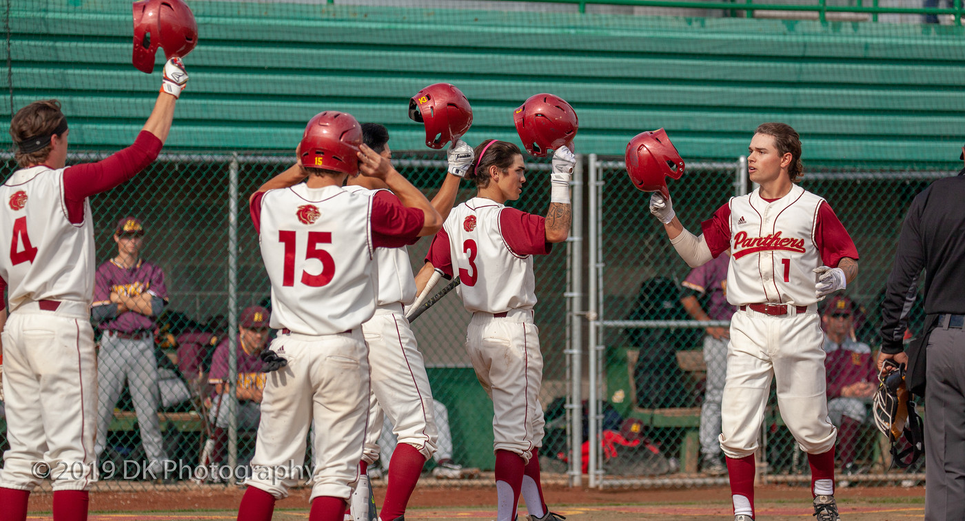 Saenz (2x3, 2B, 2 RBI's) and Daini (4 RBI's) both homer to lead Sac City over Hartnell 11-3 in the battle of the Panthers