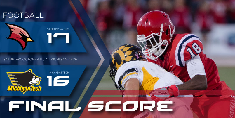 Special teams plays propel Cardinals to 17-16 victory at Michigan Tech