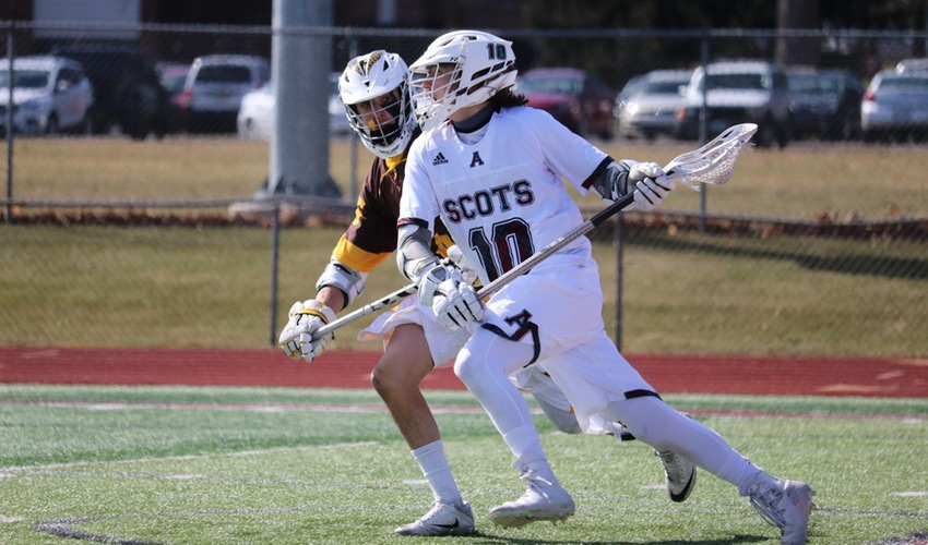 Men's lacrosse falls at Hope to open MIAA play