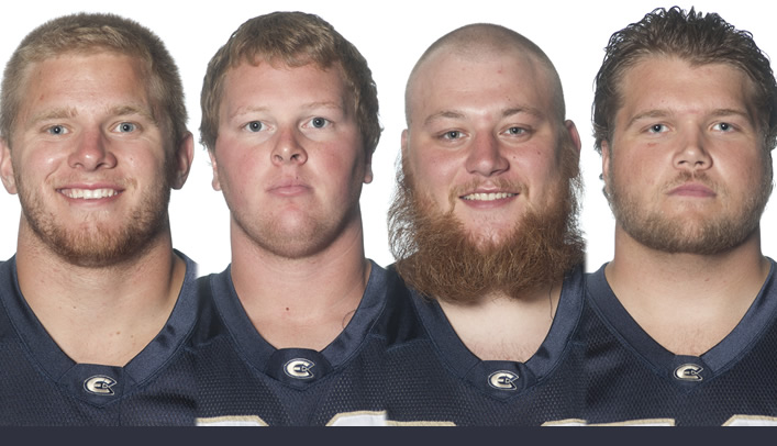Four Blugold Football Players Earn NFF Honor Society Recognition