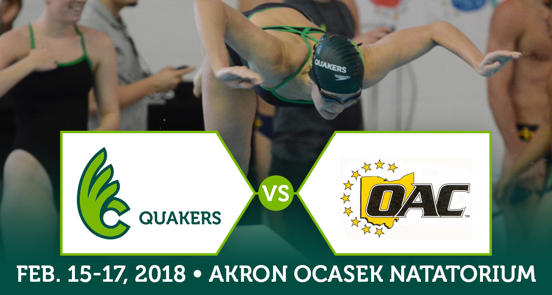 Women's Swimming to Compete at OAC Championships