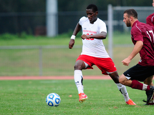 Men's soccer holds off Rowan, 2-1