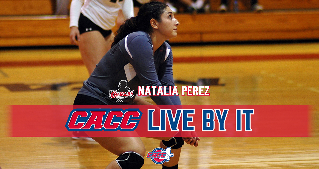 "CACC ""LIVE BY IT"": DOMINICAN COLLEGE'S NATALIA PEREZ"