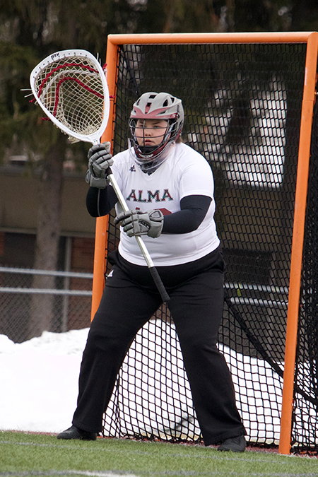 Allie Ray, Alma, Women's Lacrosse Defensive Player of the Week 2/25/19