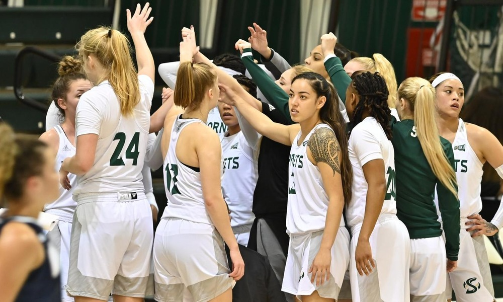 WOMEN'S HOOPS CONTINUES ROAD TRIP WITH GAMES AT NORTHERN ARIZONA, WEBER STATE