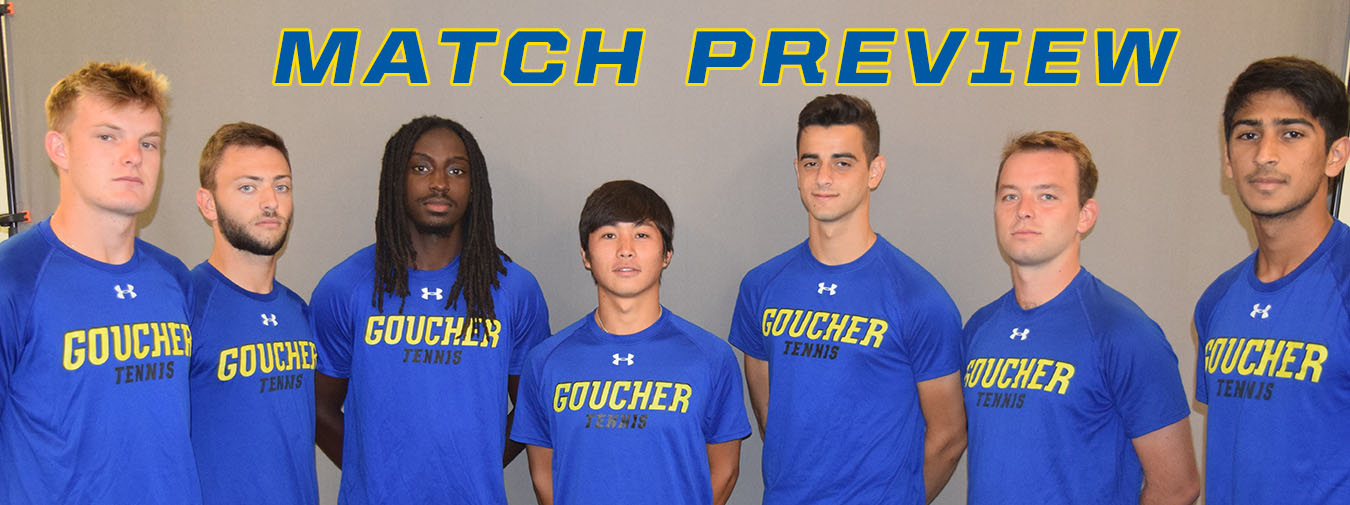 Goucher Men's Tennis Opens Season At Loyola Men's Tennis Invitational Against Division I Competition This Weekend