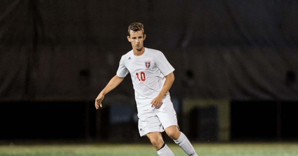 Men's Soccer wins last regular season game at Post, 1-0