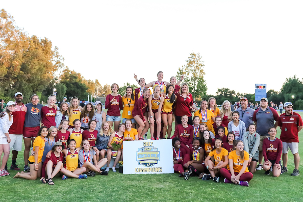 CMS Captures 2017 SCIAC Women's Track and Field Championship