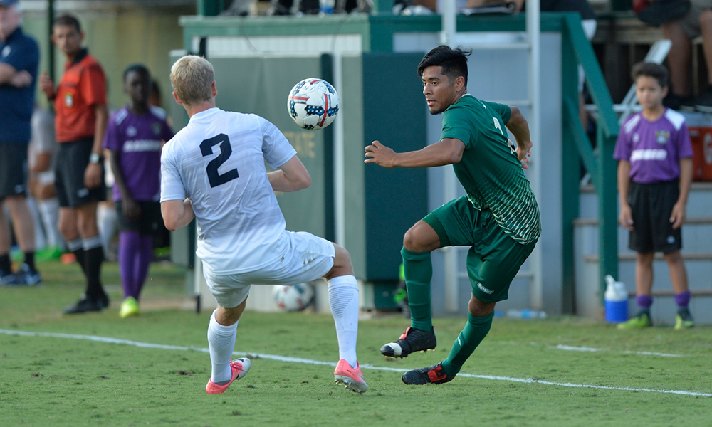 MEN'S SOCCER CAN'T OVERCOME TWO EARLY GOALS IN LOSS TO USD