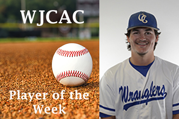 WJCAC Baseball Player of the Week (March 25-31)