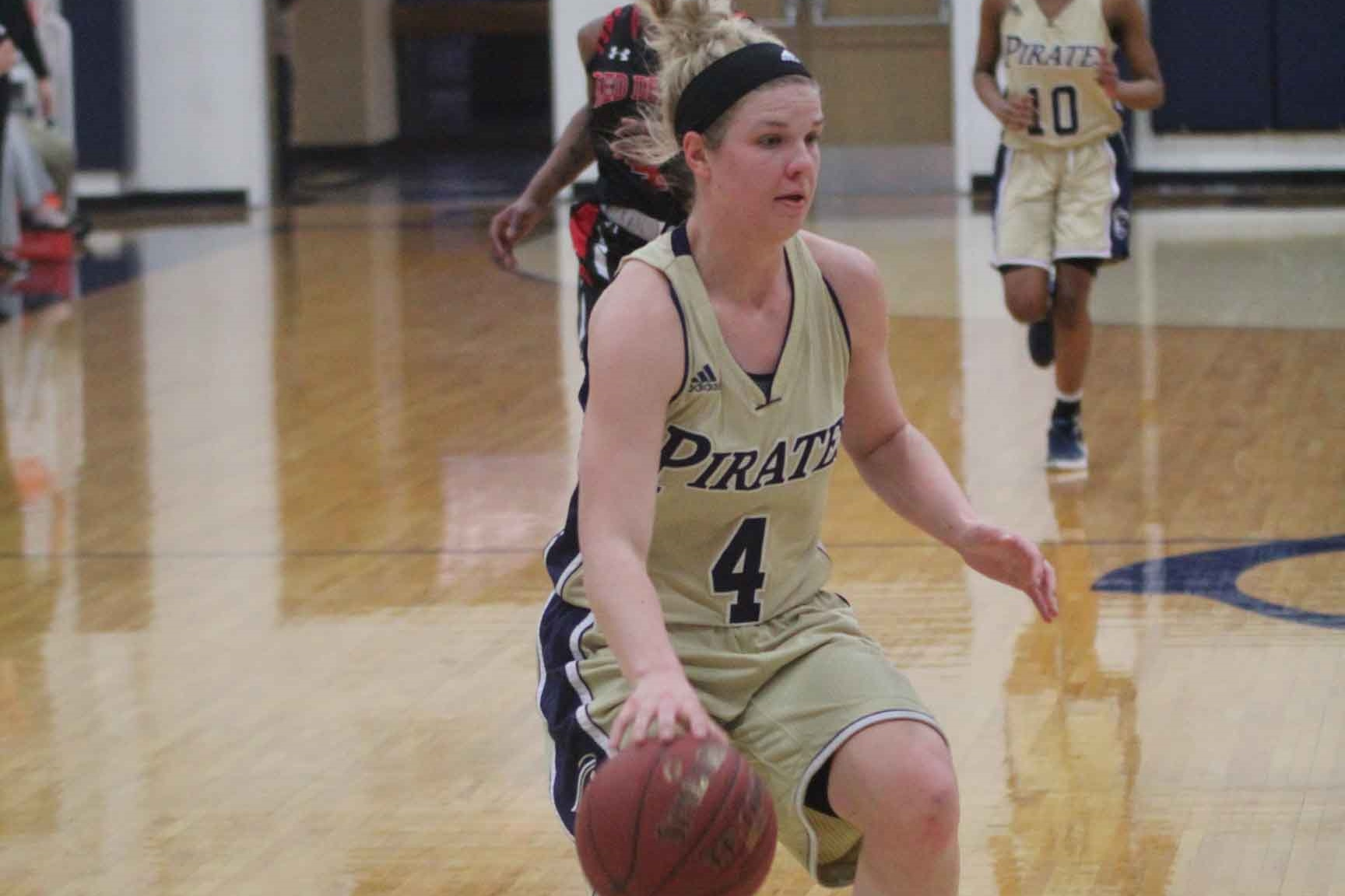 Lady Pirates Dominate on the Road