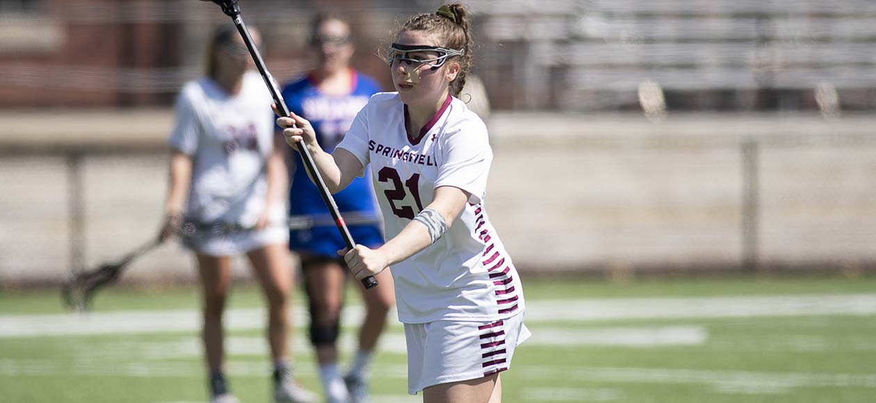 Women's Lacrosse Runs Past Smith, 14-7, in NEWMAC Championship Quarterfinals