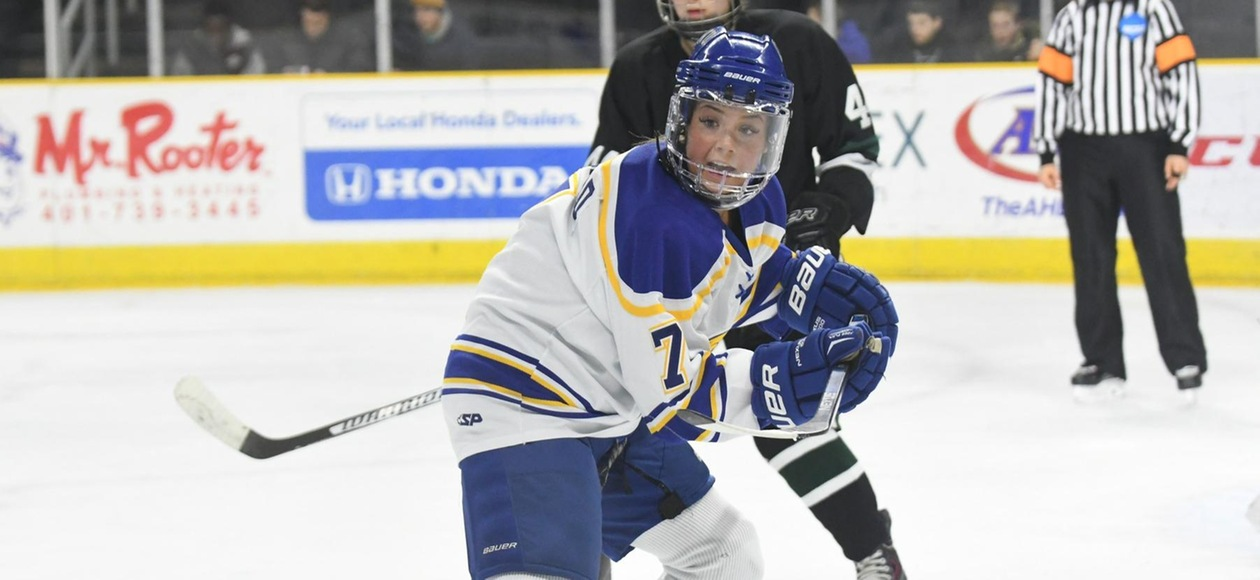 Pioneers Too Much for JWU Women's Ice Hockey 7-1