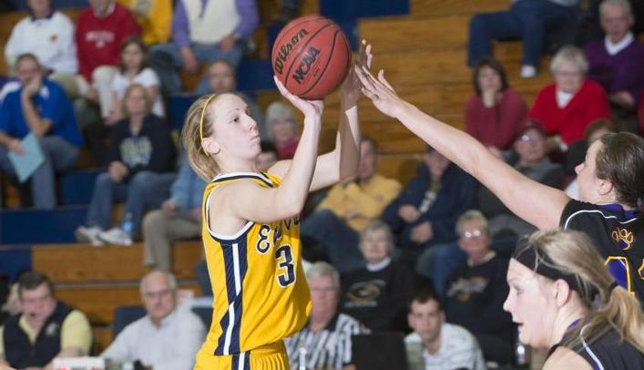 Women's Basketball Gets First WIAC Win by Beating Stout