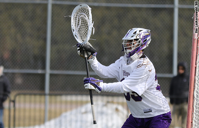 Men's Lacrosse Falls at No. 3 Le Moyne
