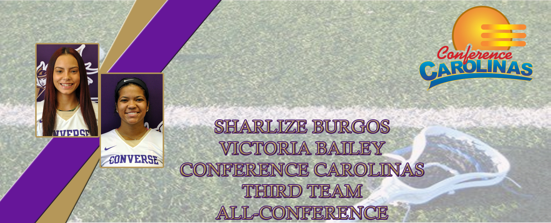 Bailey and Burgos Earn Lacrosse All Conference Selections