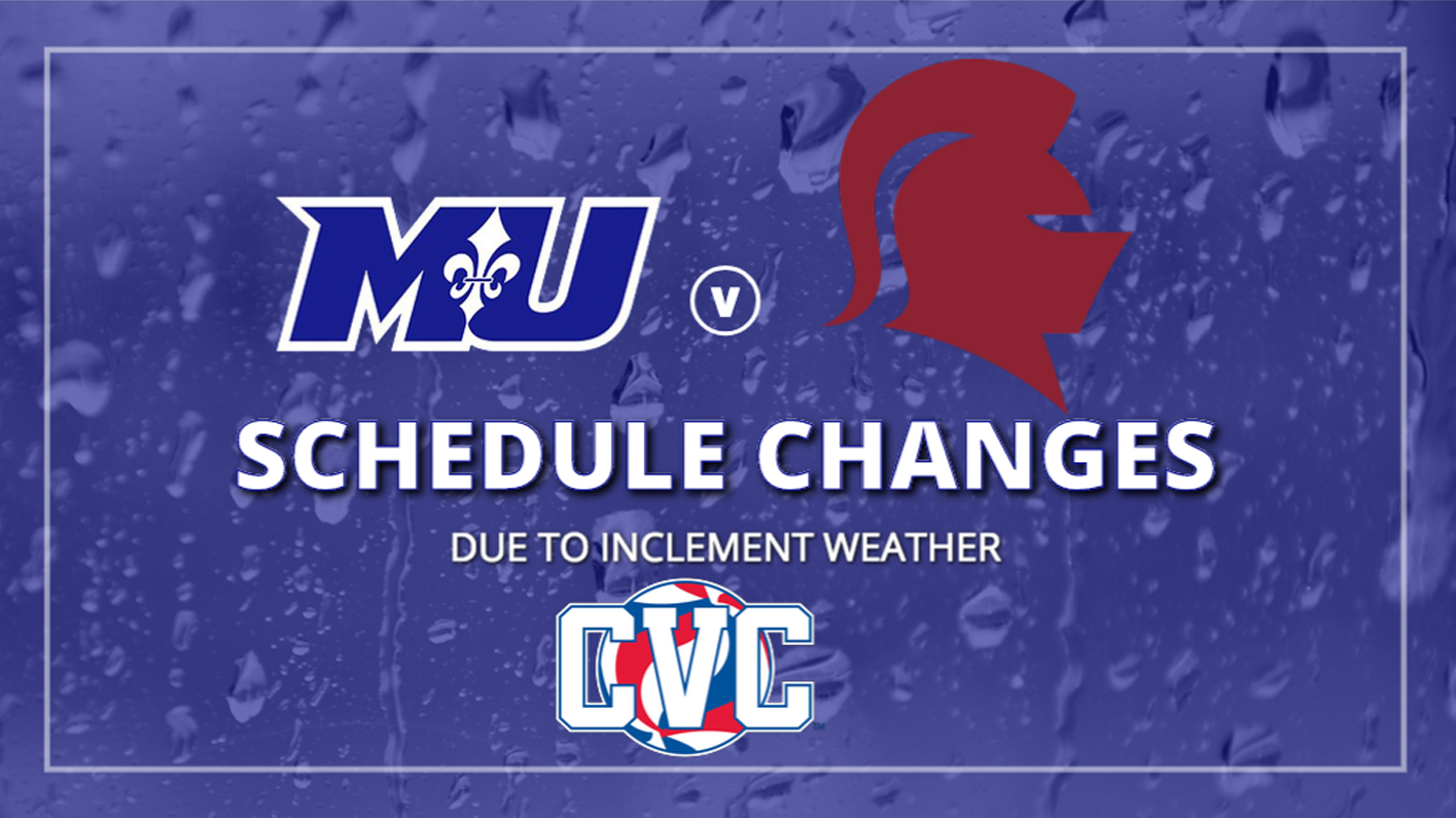 Men's volleyball match against Southern Virginia postponed