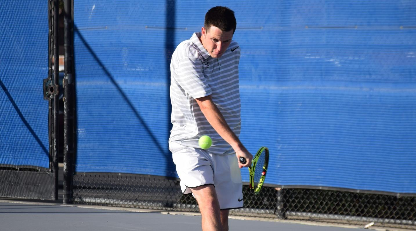 Men's tennis team clinches third place in conference