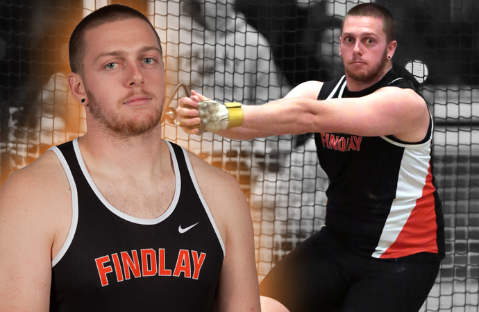 Welch Tabbed Midwest Region Field Athlete of the Year