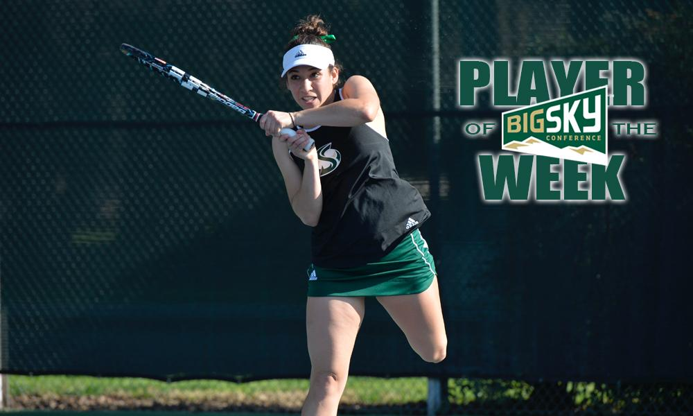 LOAIZA ESQUIVIAS EARNS SECOND BIG SKY PLAYER OF THE WEEK AWARD