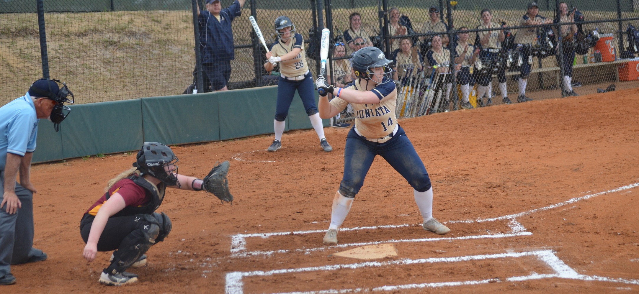 Softball Splits on Day One of The Spring Games