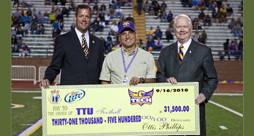 SEC Enterprises/Miller Lite continue to support Golden Eagle football