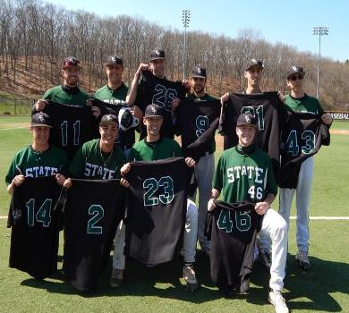 Paccione, Marino Lead Rams in Sweep of St. Joe's on Senior Day