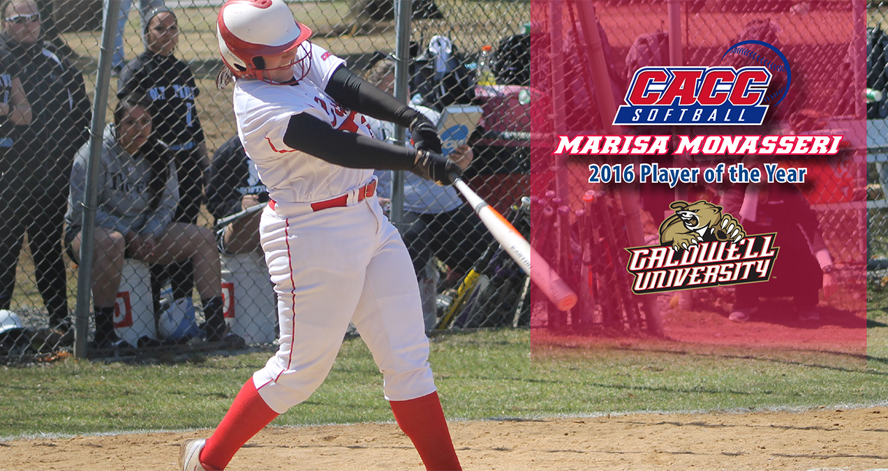 Caldwell's Marisa Monasseri Named 2016 Player of the Year to Highlight Softball All-CACC Teams