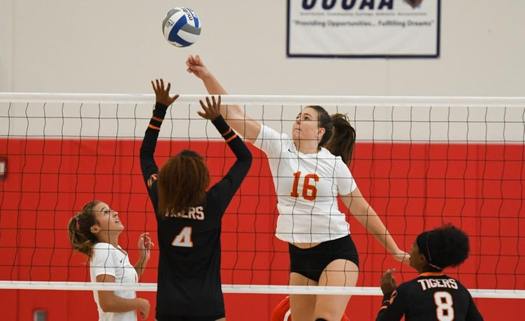 COD Women's Volleyball opens up 2018 with a sweep of the Tigers, 3-0