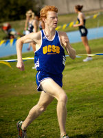 Gaucho Men's Track & Field Win Dual Meet Over Cal Poly for Undefeated Regular Season