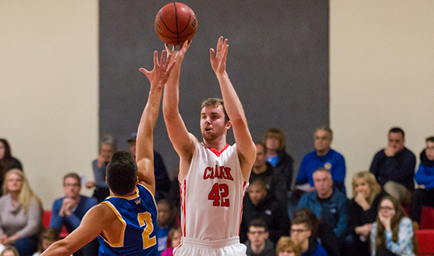 David Mercier pumped in a game-high 21 points in the Cougars' 73-68 loss to Wheaton on Wednesday.