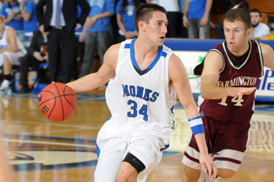 Men's Basketball to Host GNAC Tournament Semifinal Thursday Night