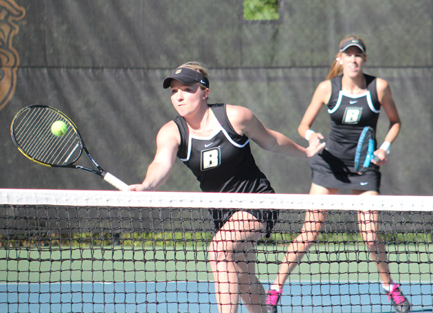 Women's tennis falls in home opener