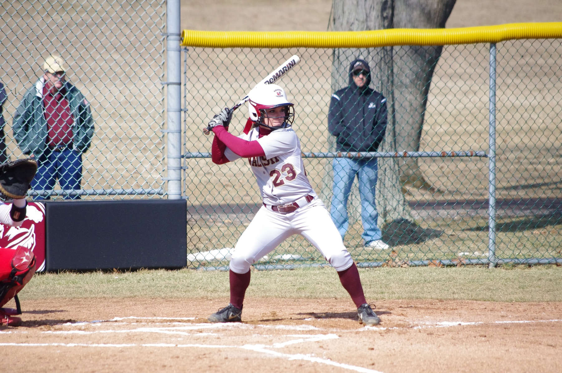 Softball Splits Final Day of Spring Break