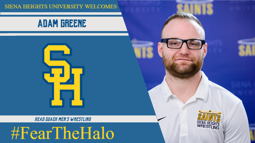 Adam Greene Chosen to Kick Start Siena Heights Men's Wrestling Program