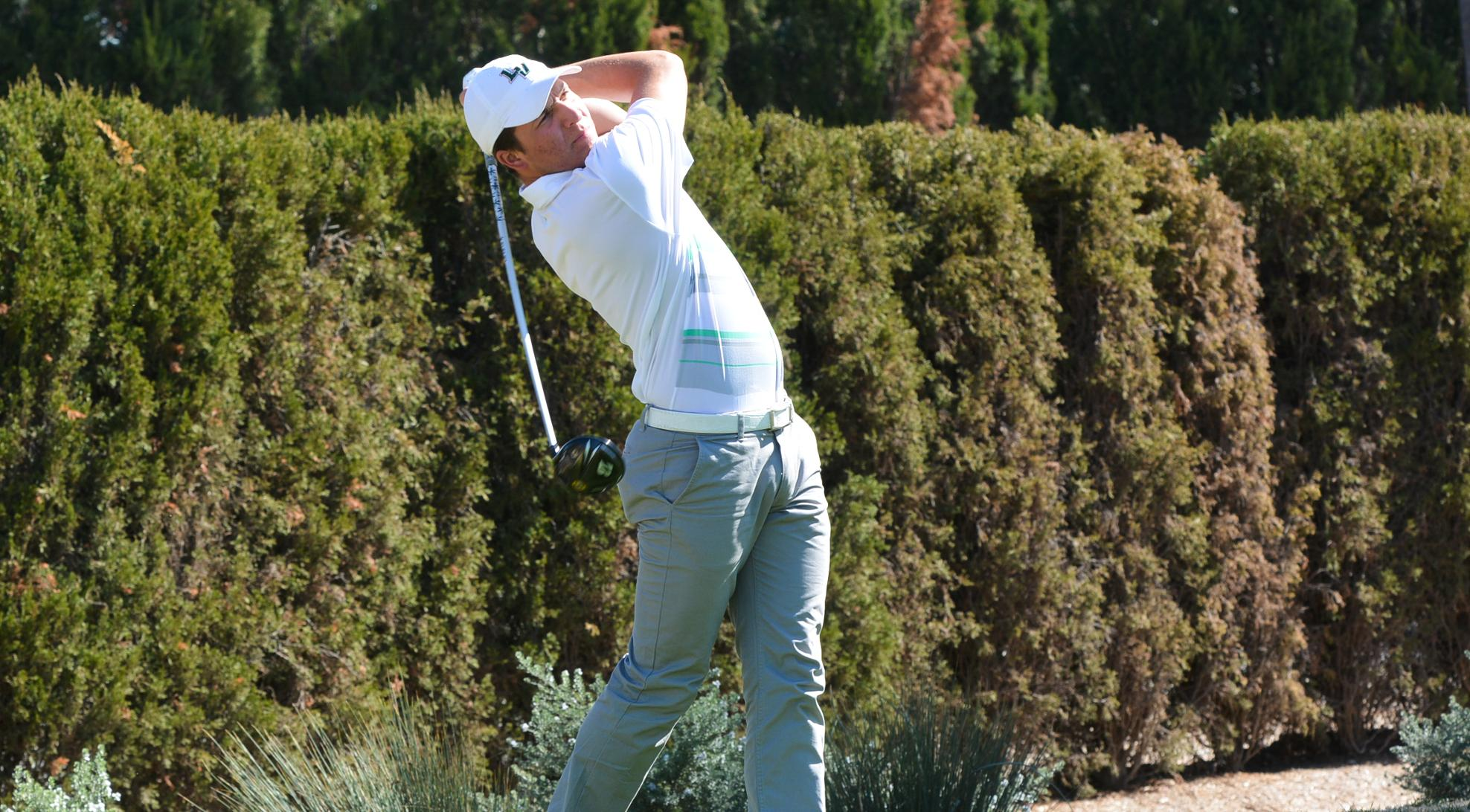 Men's Golf finishes 22nd at Jekyll Island Invitational