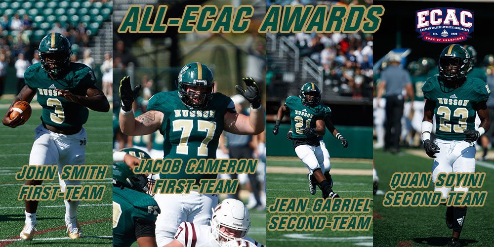 Four Eagles Earn All-ECAC Football Honors