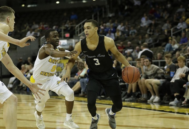 Saints Fall to NKU, 84-47, in Exhibition Game