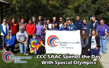 Curry SAAC Members Join CCC SAAC Members at Special Olympics Event